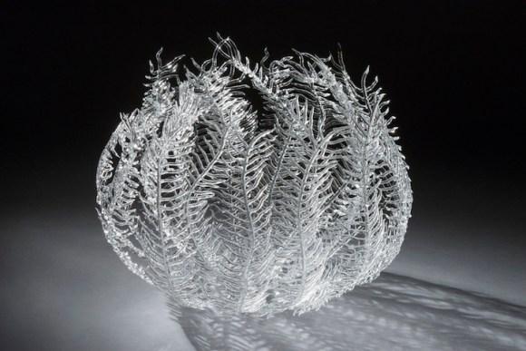 Esculturas de vidro - formas marinhas 1