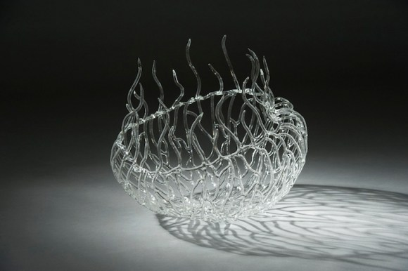 Esculturas de vidro - formas marinhas 5