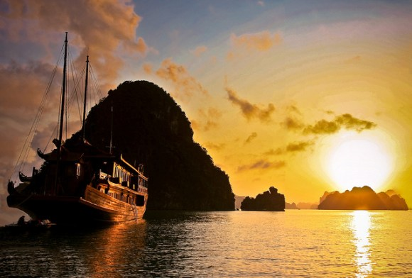 Vietnã - arquipélago de Halong Bay 10