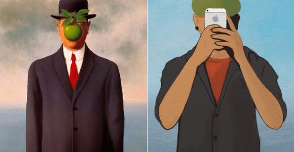 Artista brasileiro faz releituras 2.0 de obras clássicas do surrealismo