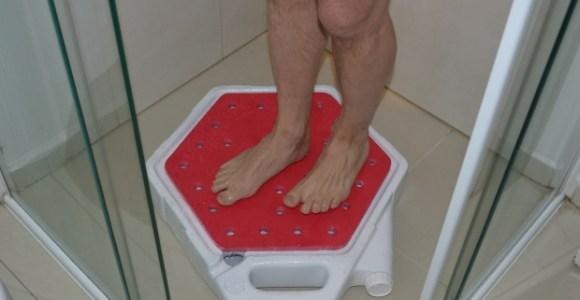 Essa invenção permite reutilizar até 80% da água do banho!