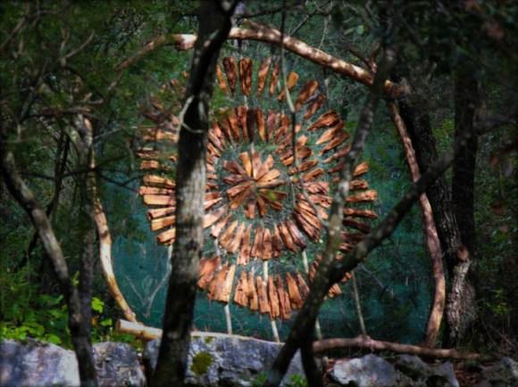 Arte com a natureza 3