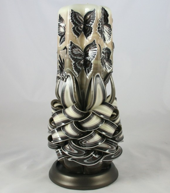 Escultura em velas decorativas 6