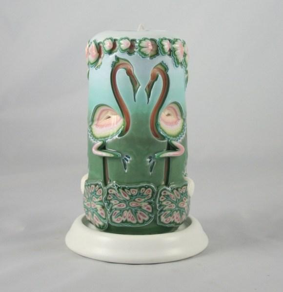 Escultura em velas decorativas 7