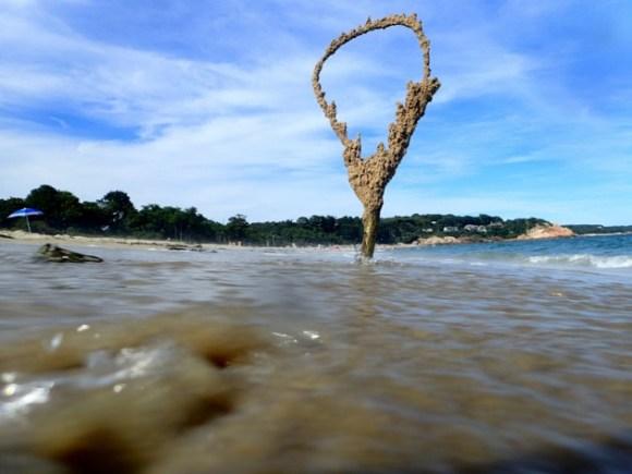 Esculturas de areia diferentes 8