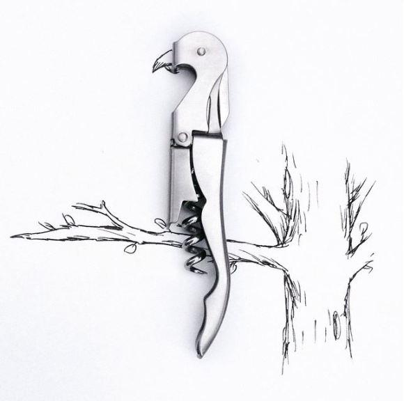 Ilustrações com objetos do cotidiano 18