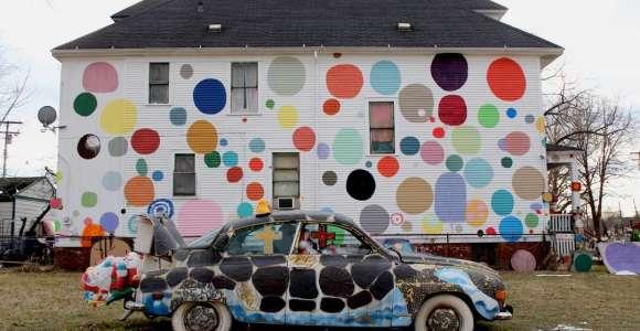 Projeto artístico renova bairro abandonado e devolve perspectiva aos moradores