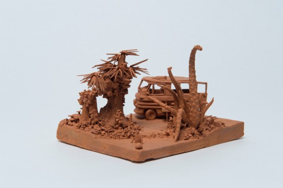 Esculturas futurísticas em cerâmica 10 - Marc Domage