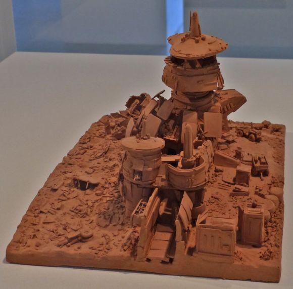 Esculturas futurísticas em cerâmica 12 - Rolf Malta