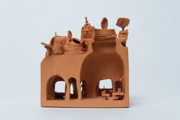 Esculturas futurísticas em cerâmica 9 - Marc Domage