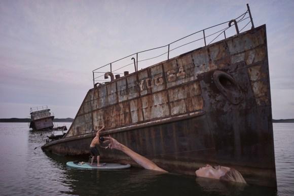 Grafite navio naufragado 3