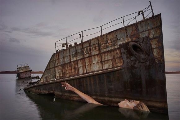 Grafite navio naufragado 4
