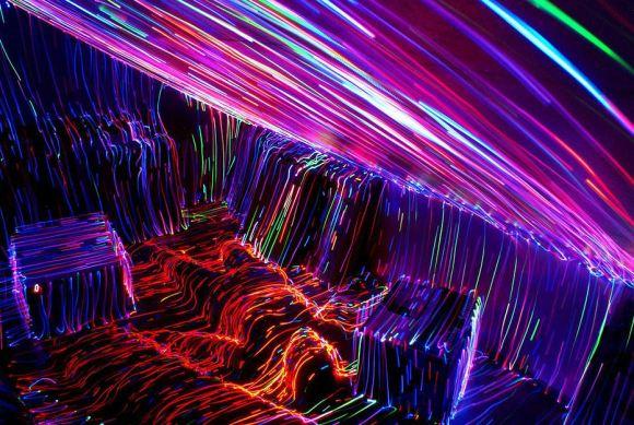 Pintura com luzes - longa exposição 7