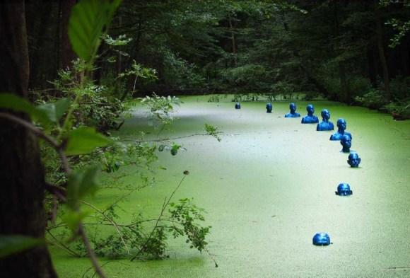Esculturas submersas 2