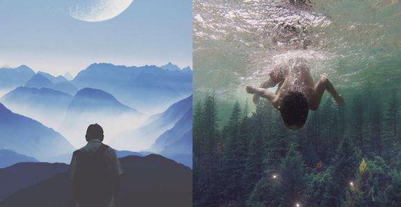 Contemple o surrealismo obtido por esse fotógrafo por meio da manipulação de imagens