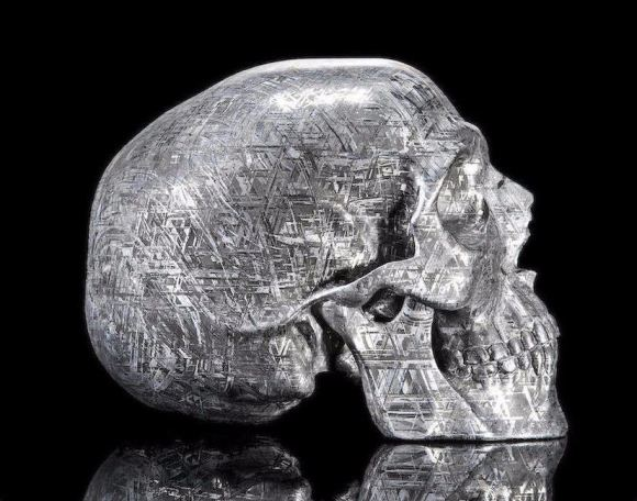 Caveira meteorito