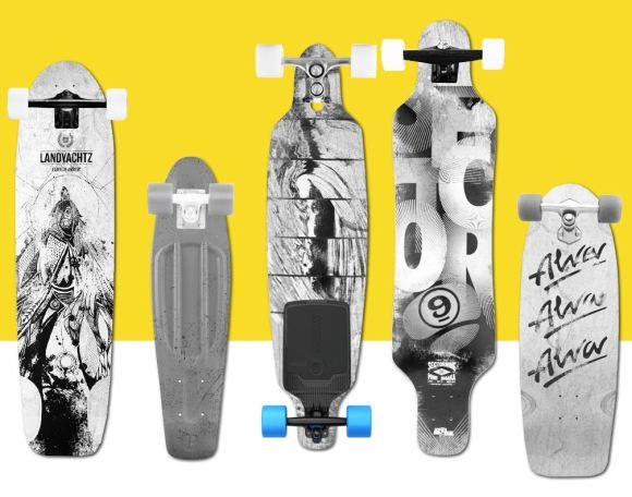 Motor para skate