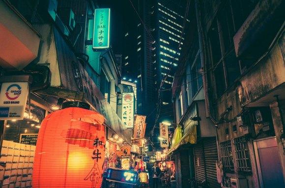 Fotografias noturnas de Tóquio 10