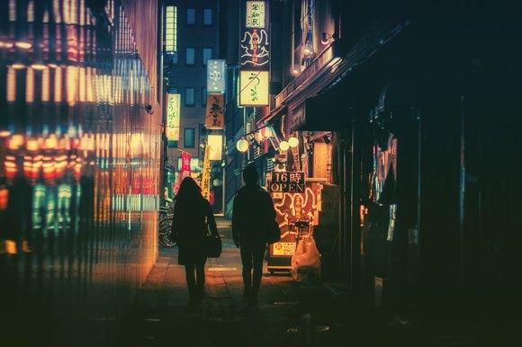 Fotografias noturnas de Tóquio 14