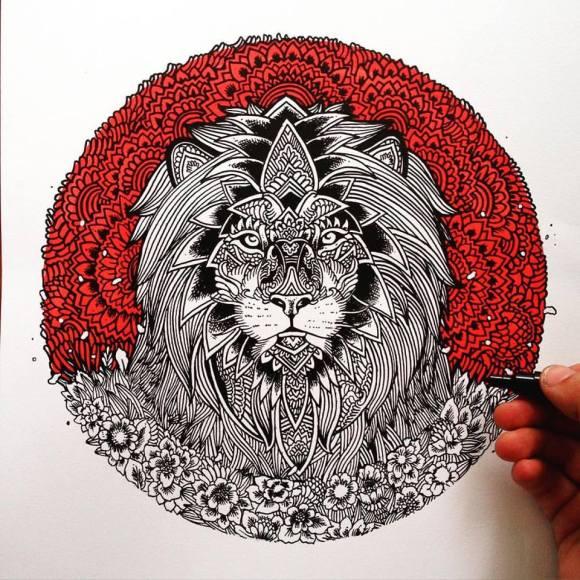 Ilustrações de artista brasileiro 16