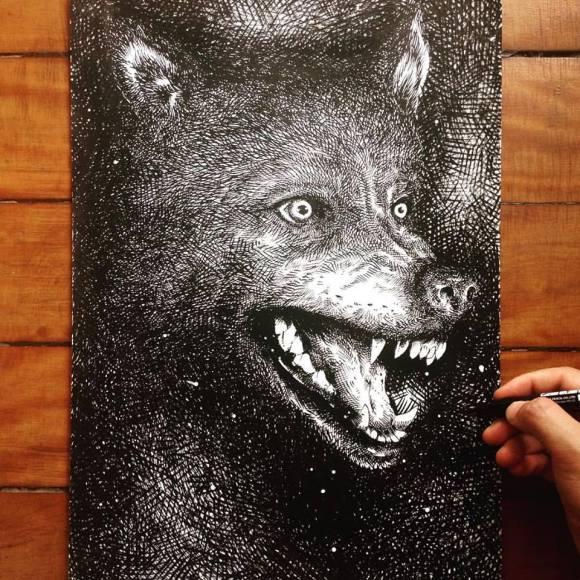 Ilustrações de artista brasileiro 17