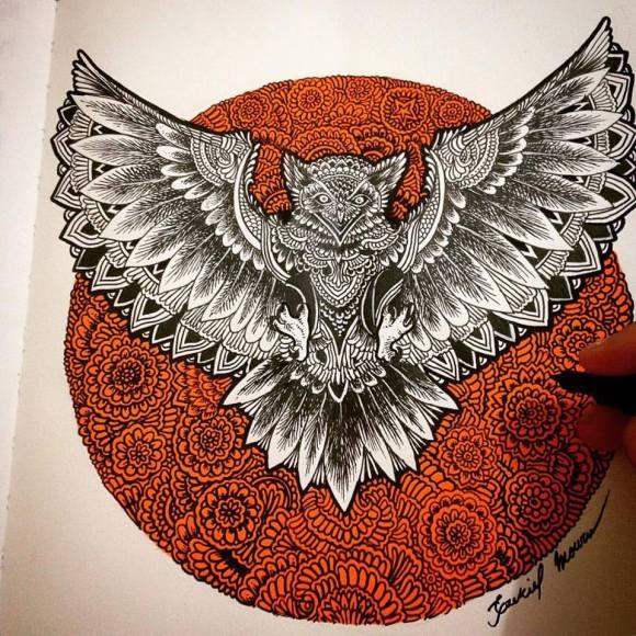 Ilustrações de artista brasileiro 4