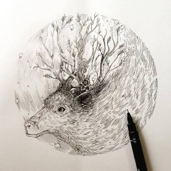 Ilustrações de artista brasileiro 8