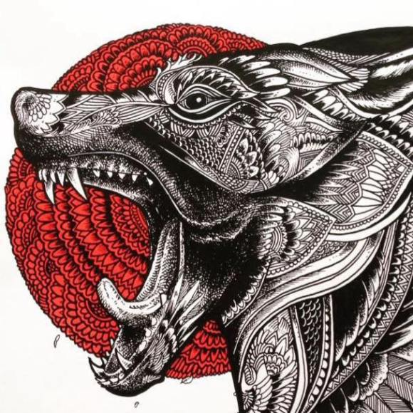 Ilustrações de artista brasileiro 9