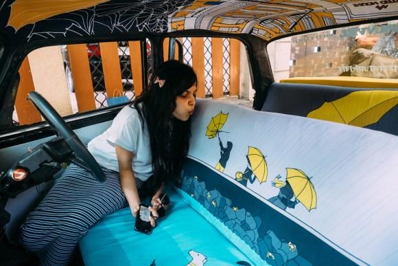 Táxi artístico 7