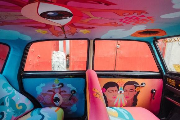 Táxi artístico 9