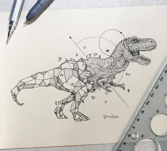 animais e geometria 9