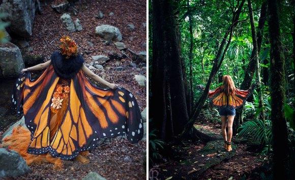 Lenço borboleta 4