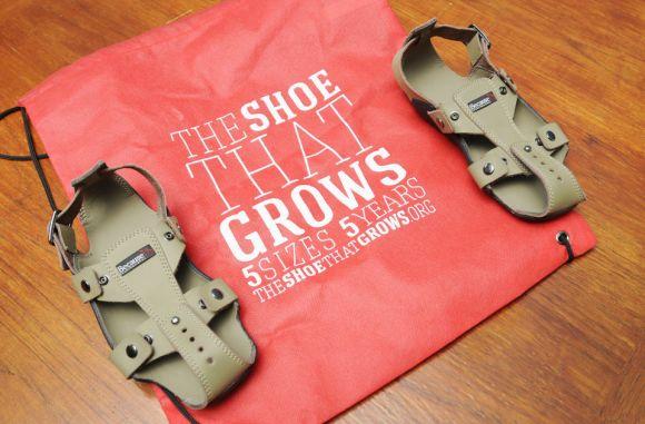 Sapato que cresce 3