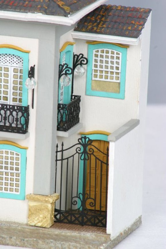 Miniaturas de cenários mineiros - maquetes de Minas Gerais 5