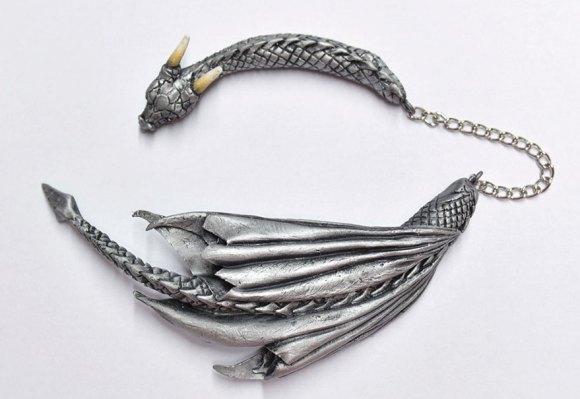 Colar e pulseira de dragão 11