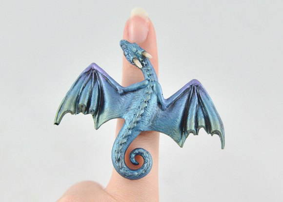 Colar e pulseira de dragão 4