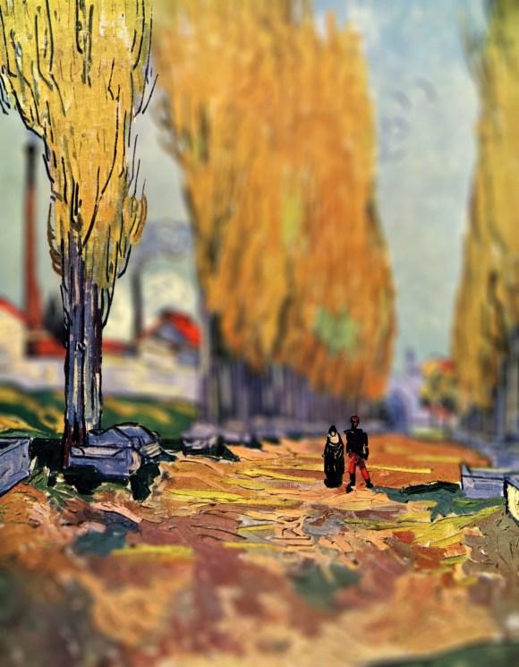 Van Gogh em tiltshift 11