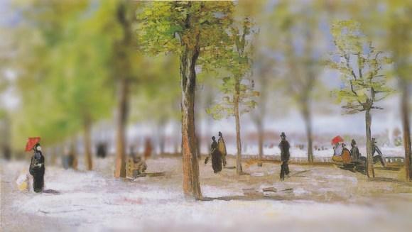 Van Gogh em tiltshift 6