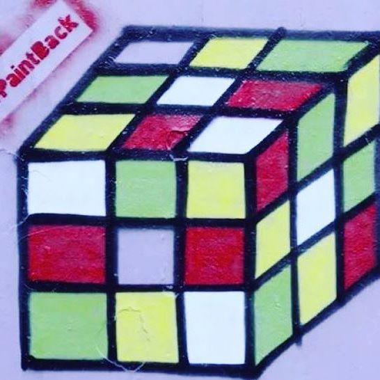 Cubo mágico à partir de uma suástica