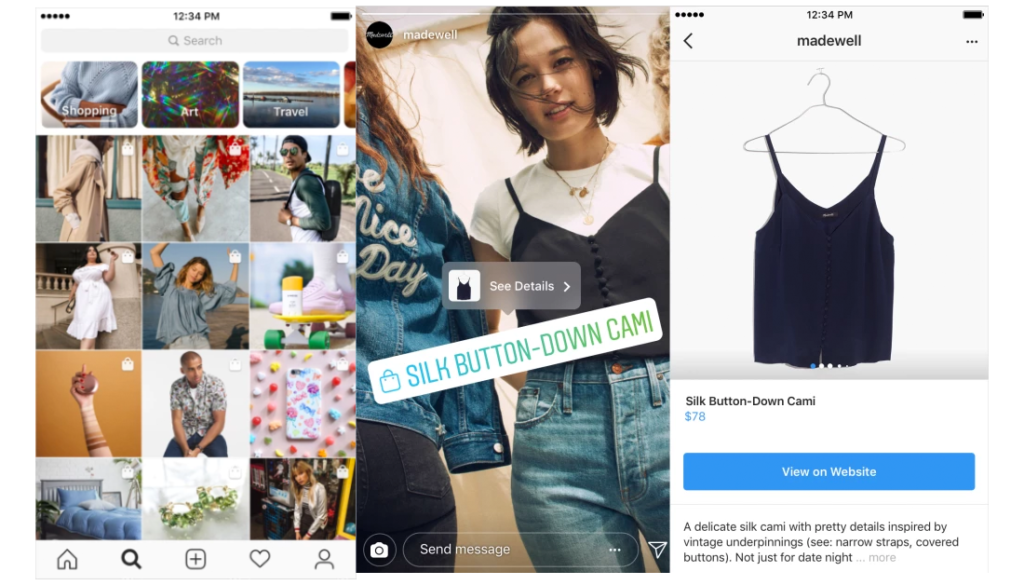 The Social Recap; week 38 - Instagram Shopping