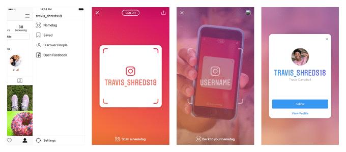 The Social Recap; week 40 - Instagram Nametags