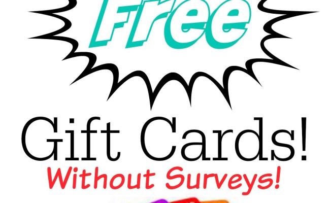 Ways To Earn Free Gift Cards Some Of This And That