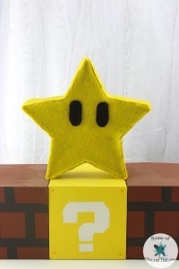 DIY Mario Bros Star Lamp! | Nerdy Crafts! - Some of This ...