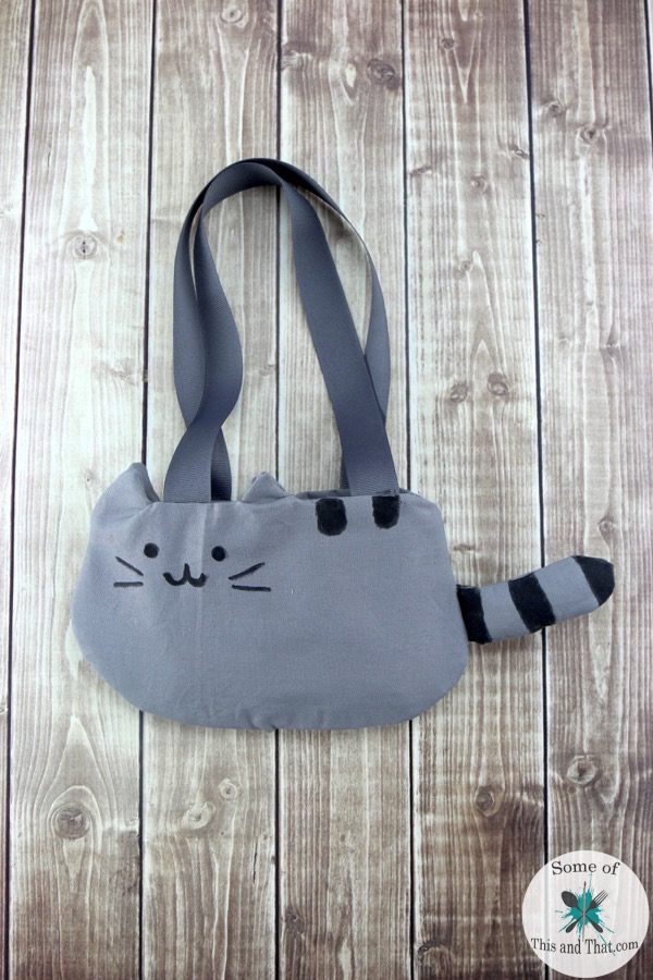 Pusheen Diy : pusheen, Pusheen, Purse!, Nerdy, Craft!