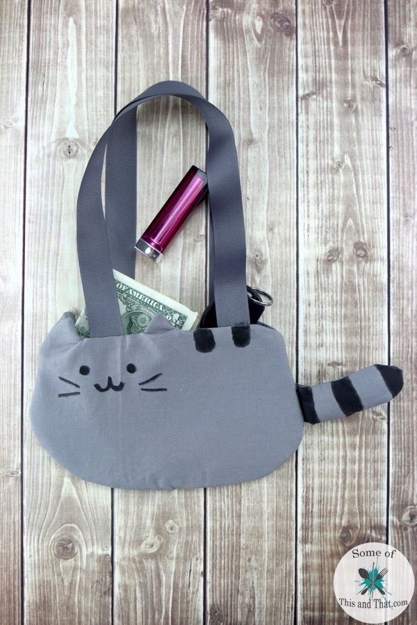 Pusheen Diy : pusheen, Pusheen, Purse!