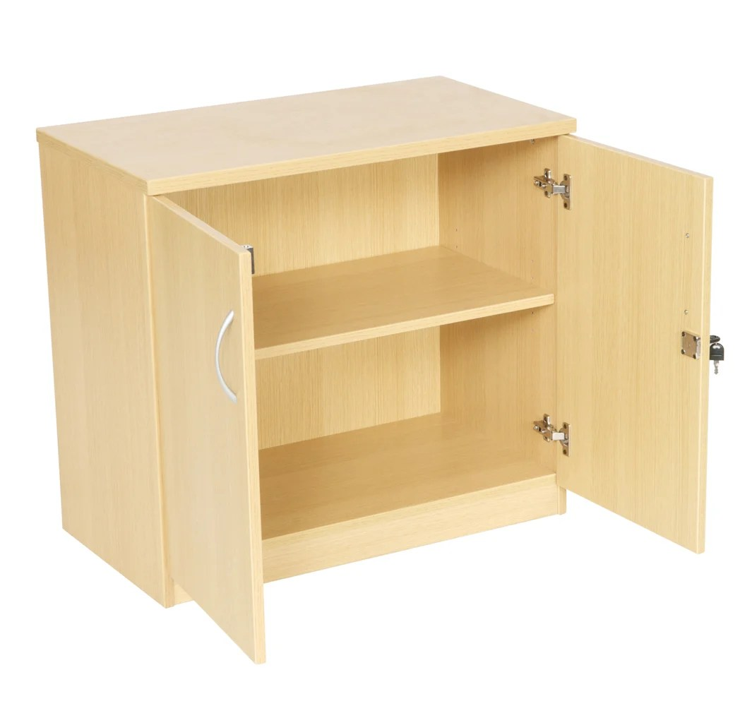 Desk High Double Door Cupboard Sc730 Somercotes