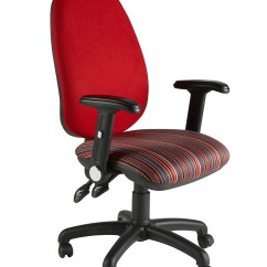 Fabric Office Chairs Uk Wooden High Chair Cover Deluxe Operator (bimp) - Somercotes Furniture Ltd