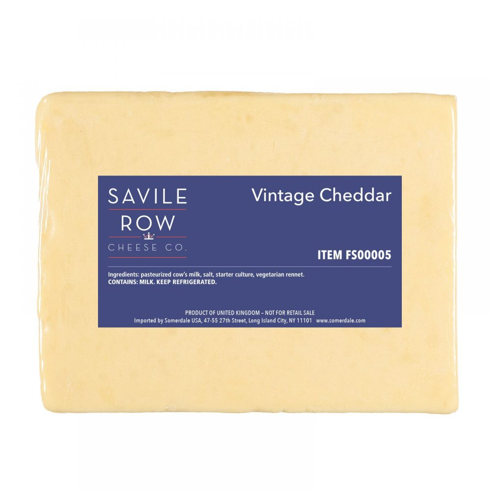 Savile Row Vintage British Cheddar