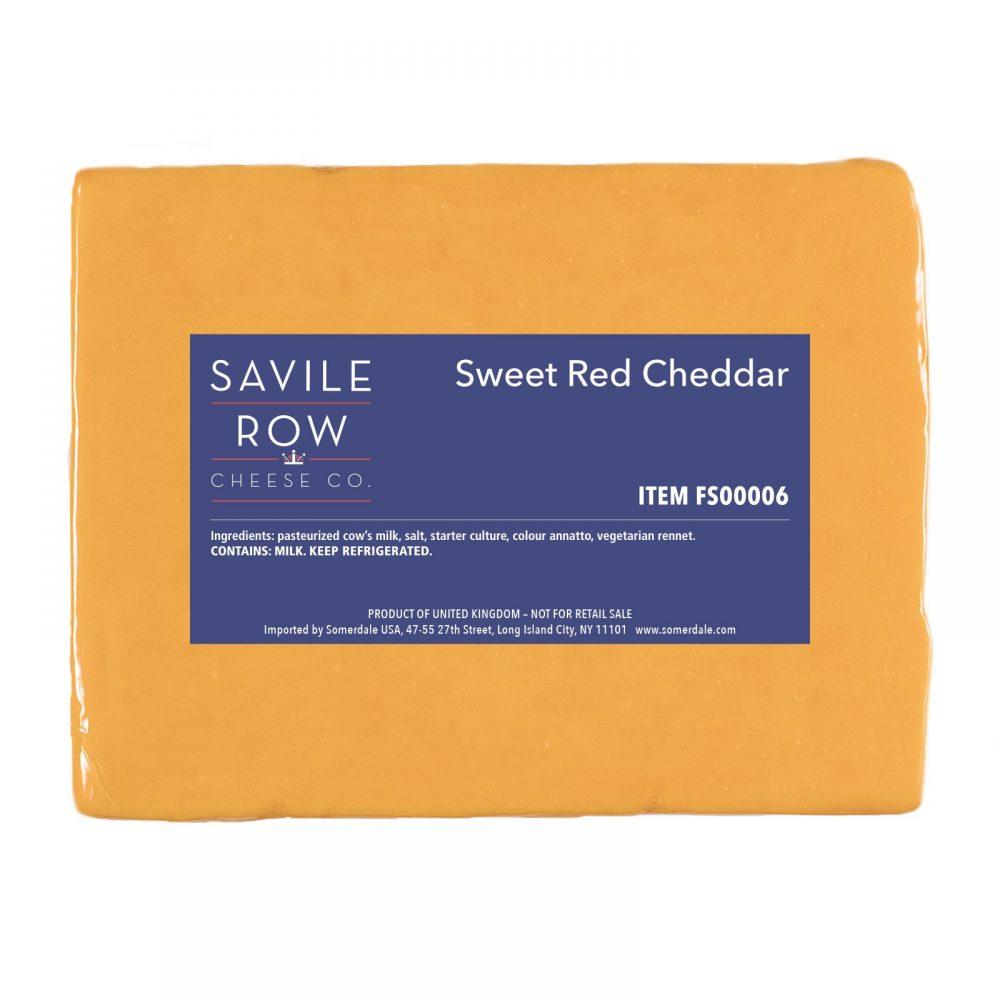 Savile Row Sweet Red Cheddar