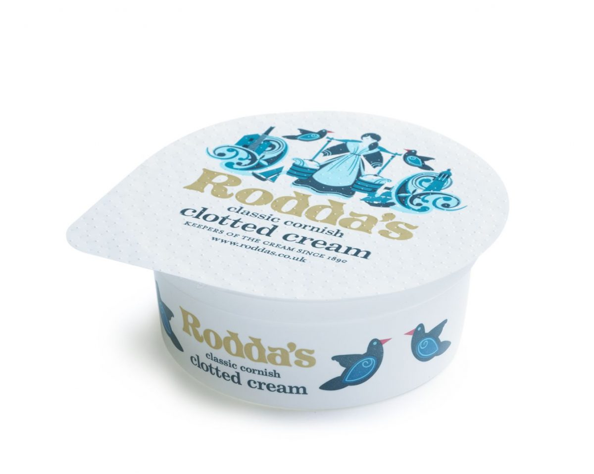 20g Rodda's Cornish Clotted Cream Portions